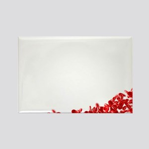 Red blood cells - Rectangle Magnet (10 pk)